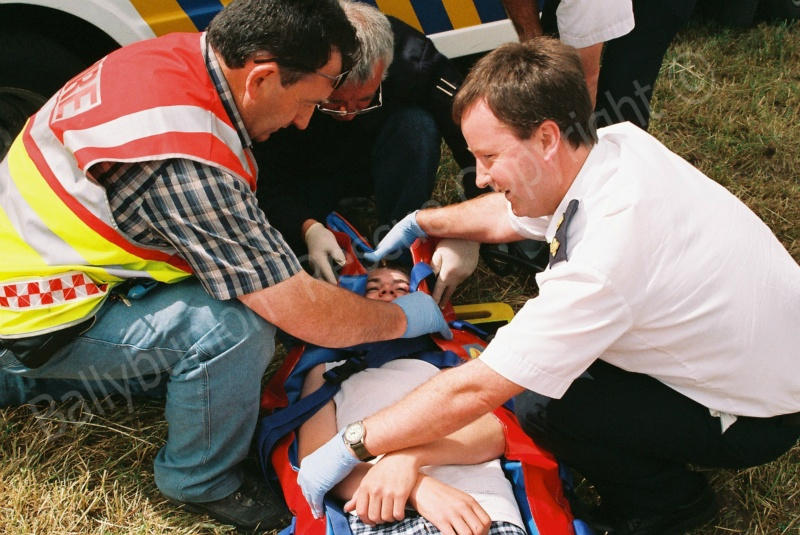 Jockey Down - First aid at the races