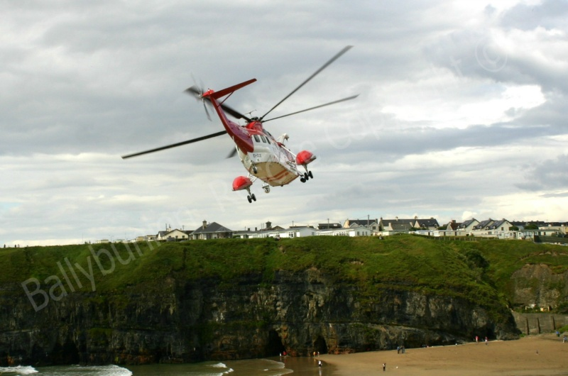 Rescue 115 taking off